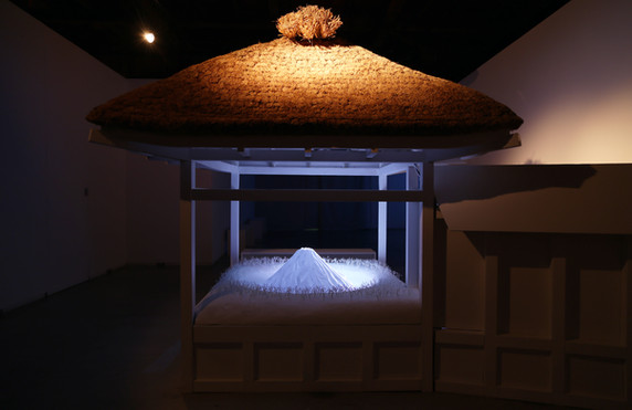 Noh Stage –Let's Transmit This Beautiful Mt. Fuji by Word of Mouth-