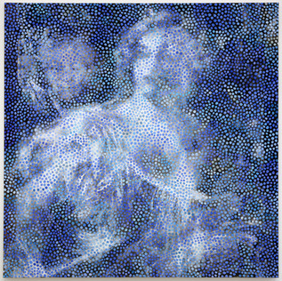 """The Ghost of Painting and Grandmother / Dots ( From """"Tarquinio e Lucrezia"""" Tiziano)"""