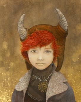 Portrait of boy, M