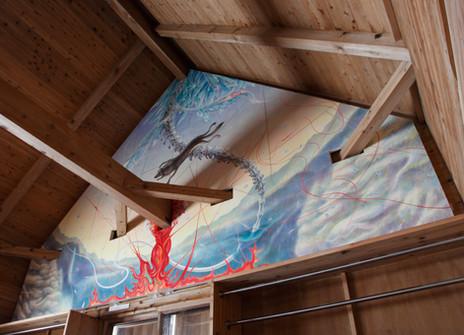 森吉山避難小屋 壁画.jpg