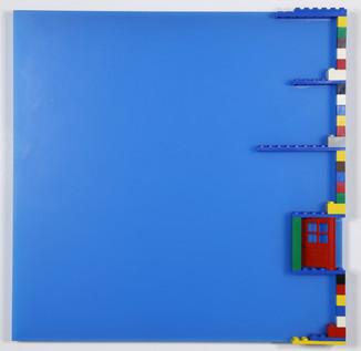Floor Series  - 1st fl., 2md fl., 3rd fl., 4th fl., and 5th fl.- 2000 Legos, Plexiglas 12.0 x 12.0inch x 5p