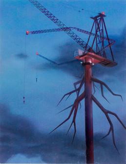 Long legs Crane