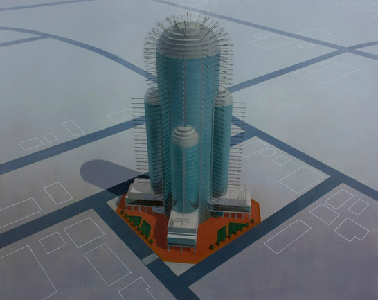 """Conceptional Drawing of """"Cactus Tower"""""""