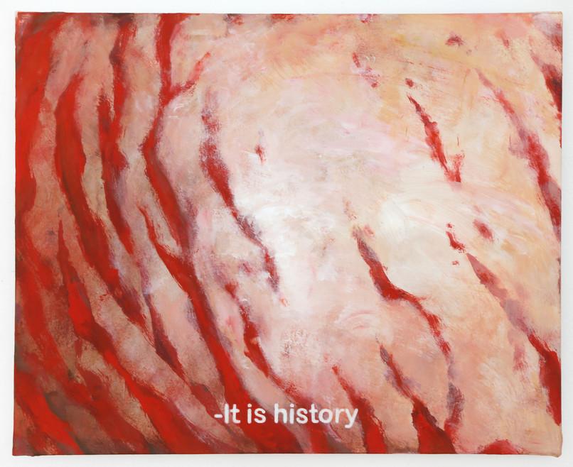 It is history