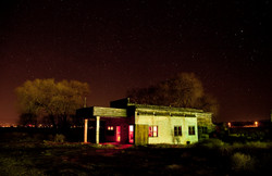 After Dark - Abandoned Gas Station