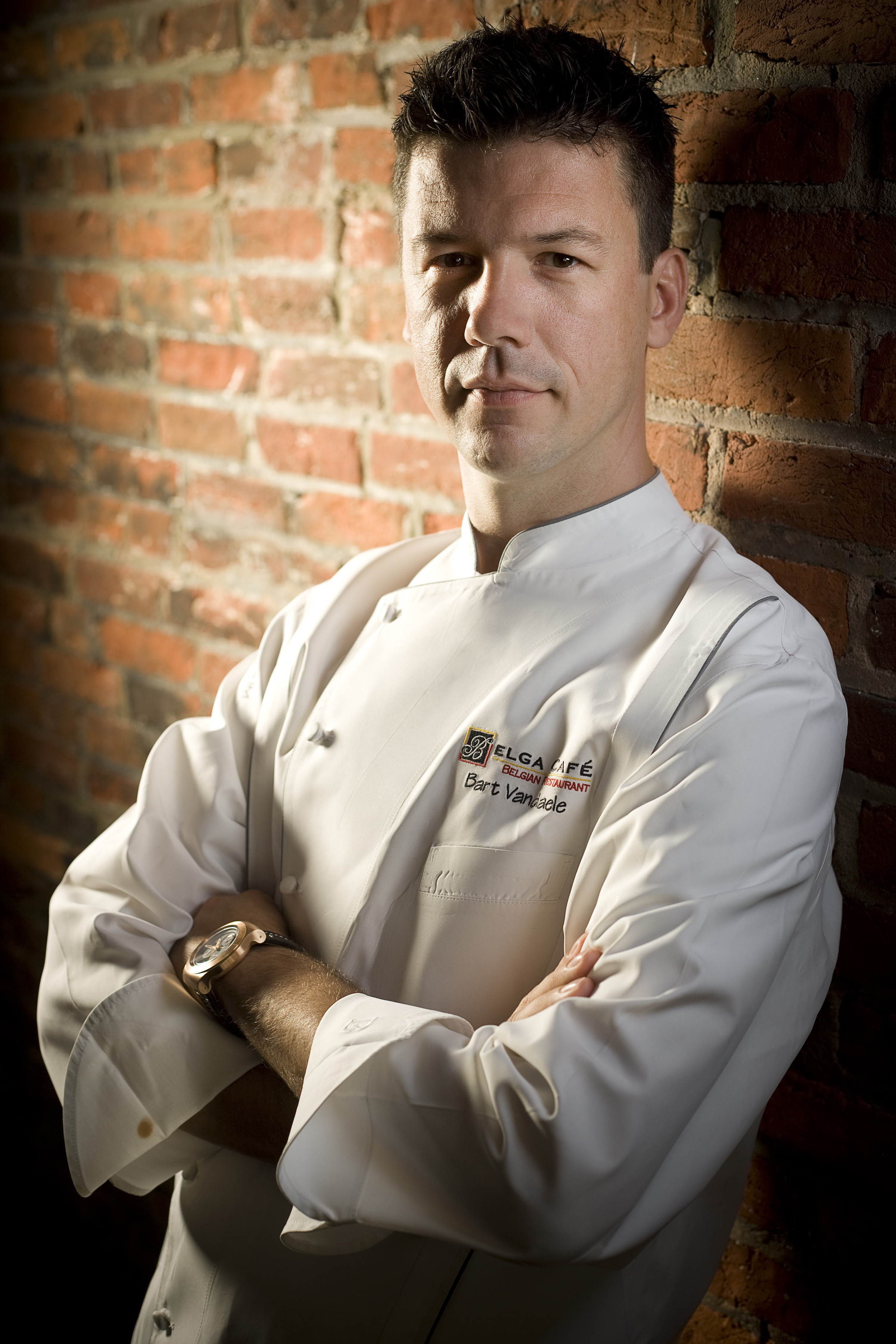 Chef Bart Vandal - Belga Cafe