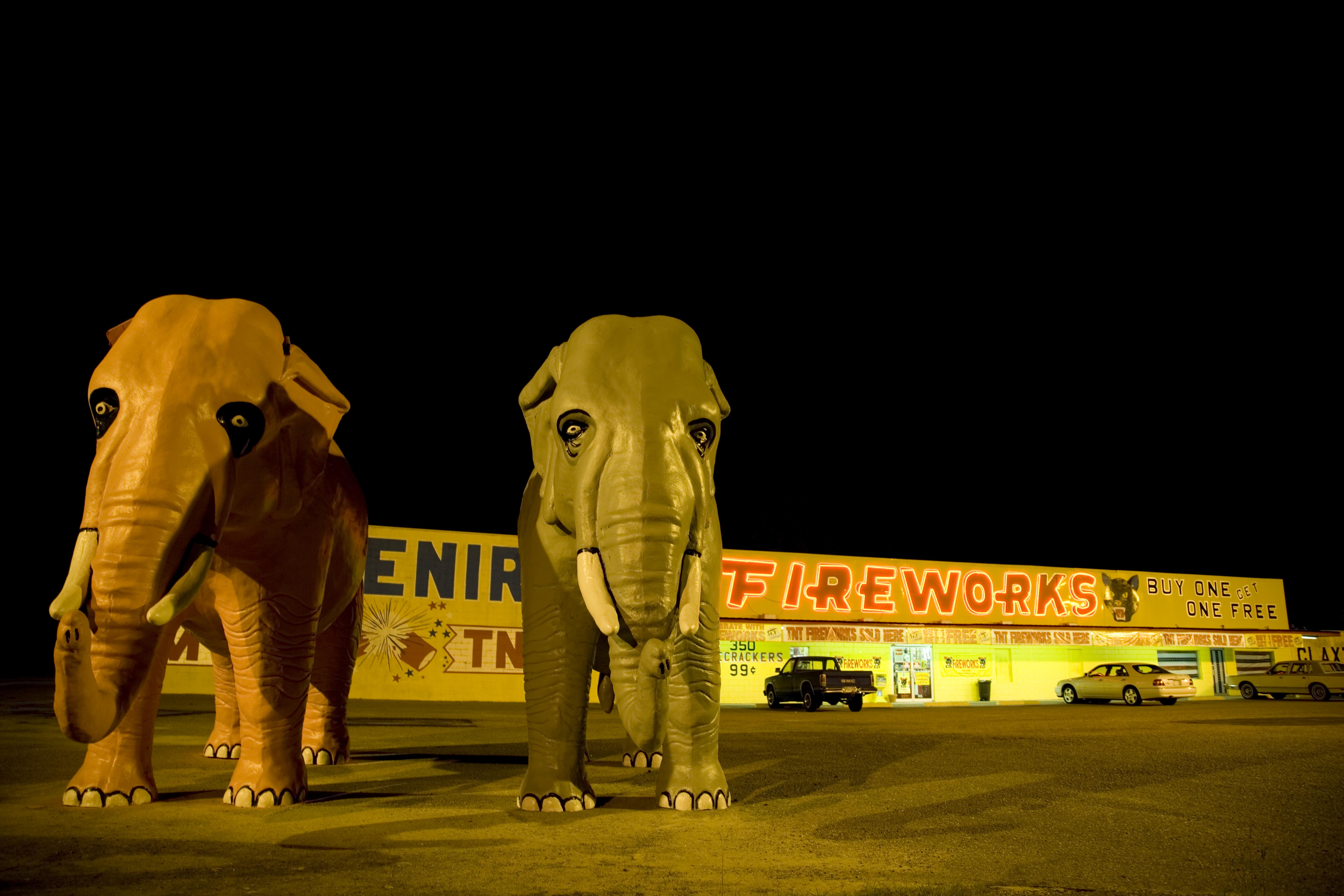 Georgia Fireworks Stand