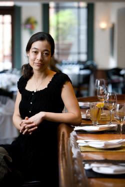 Portrait at Restaurant