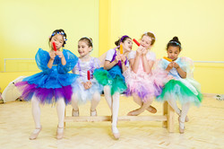 Ballerinas Testing Popsicles