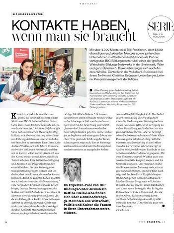 Grazetta Grünauer-Winkler Ausgabe April