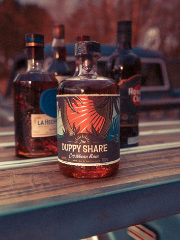 Over 30 exciting brands of rum on offer