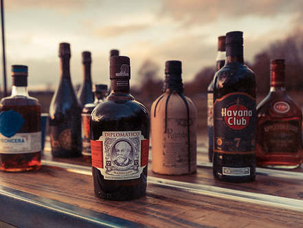 A small selection of our rum