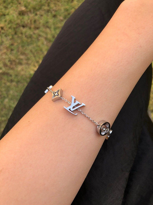 Louis Vuitton Bracelet High Copy Stainless Steel
