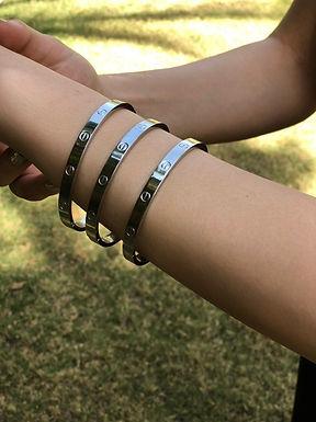 Cartier Bracelet High copy stainless steel