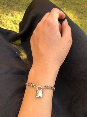 Louis Vuitton Bracelet High Copy Stainless Steel