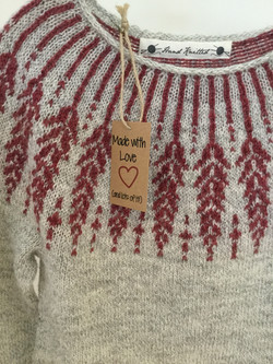 Hand Knitted in Somerset Jumpers