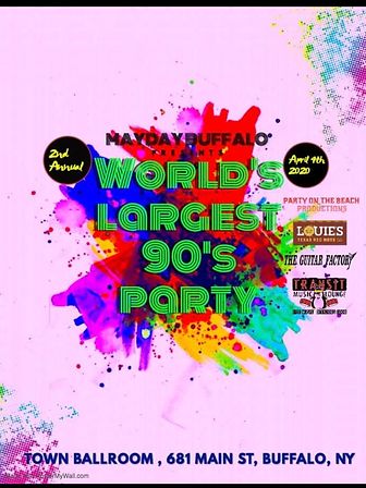 2020 World's Largest 90s Party