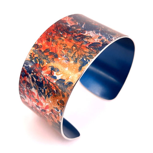 Patterned Cuff Teal | Red | Yellow | Orange - 3 cm
