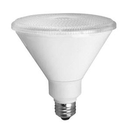 12 TCP LED PAR 38 Floodlights,15 W= 120 W Incan. Dimmable, 50,000K, Narrow Beam