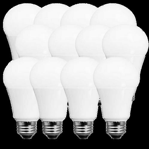 LED11A19DOD27K95 Case of 12 TCP LED A19 Dimmable, High CRI Light Bulbs, 11W=60W