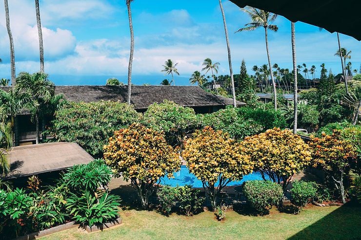 View of Gardens Napili Village Hotel
