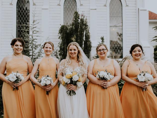 Bridesmaid Photos at Old Trinity Event V