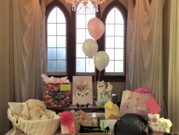 Baby Shower at Old Trinity