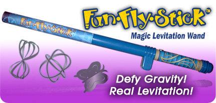 Fun-Fly-Stick Magic Levitation Wand