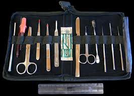 Dissecting Set, 15 piece w/case