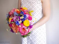 Wildflower Bouquet at Flower Moxie