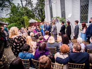 Old Trinity Wedding Ceremony