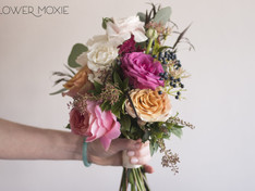 Fall Bridesmaid Bouquet Flowers