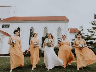 Bridesmaid Photo 2 at Old Trinity