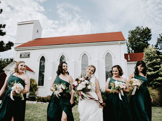 Wedding event at Old Trinity Event Venue