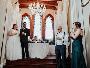 Wedding Speech at Old Trinity