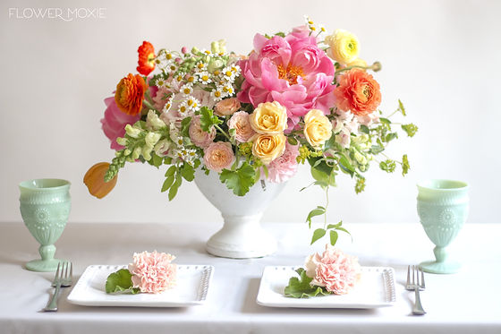 Floral Arrangement by Flower Moxie