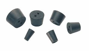 Rubbers Stoppers, 2-Hole