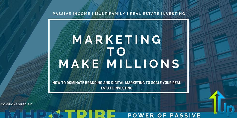 [WEBINAR] Marketing to Make Millions