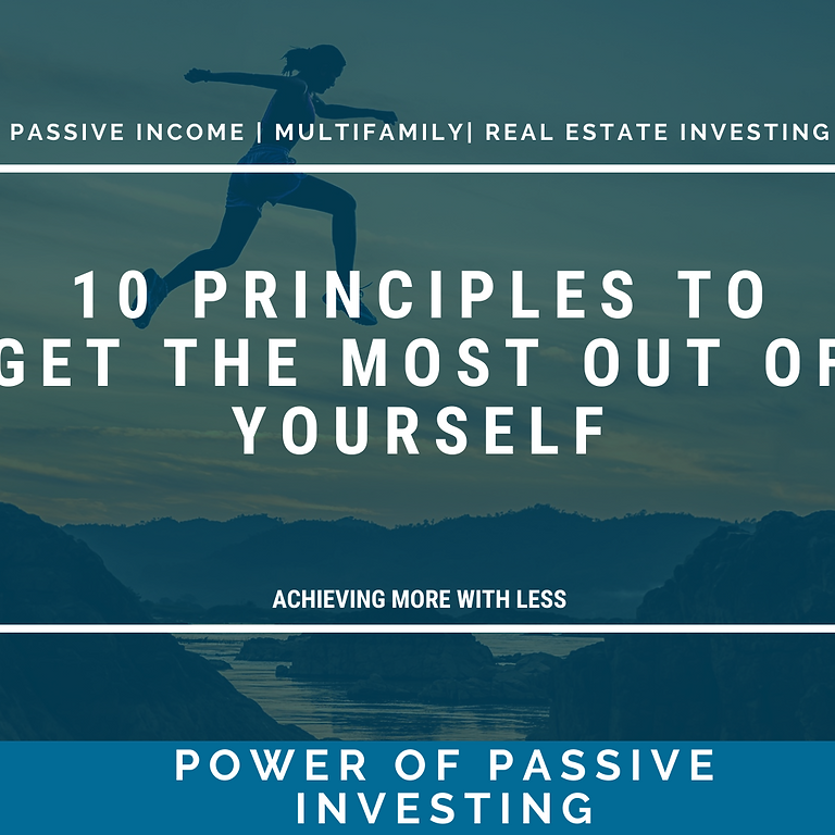 [WEBINAR] 10 Principles To Get The Most Out Of Yourself