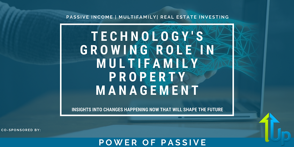 [WEBINAR] Technology's Growing Role in Multifamily Property Management