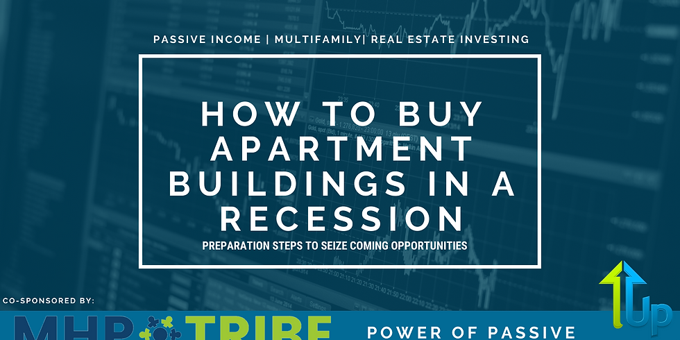 [WEBINAR] How To Buy Apartment Buildings During A Recession