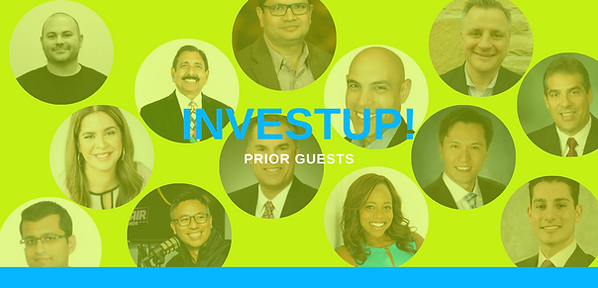 Investup guest speakers
