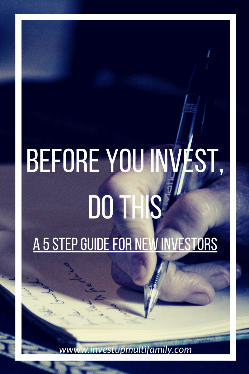 How to prepare for your first passive investment