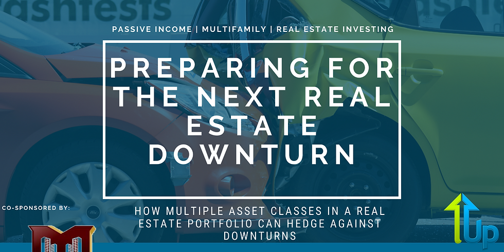 [WEBINAR] How Multiple Asset Classes in a Real Estate Portfolio can Hedge against Downturns
