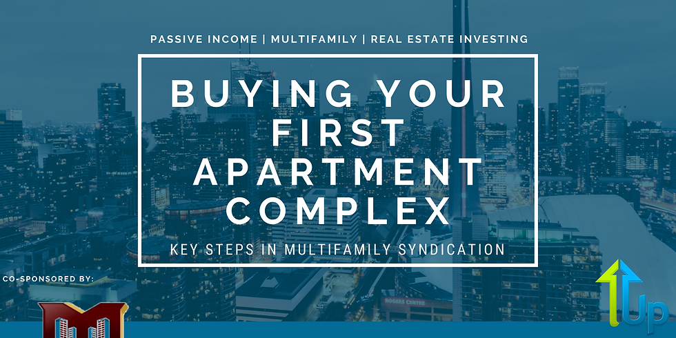 [WEBINAR] Buying Your First Apartment Complex