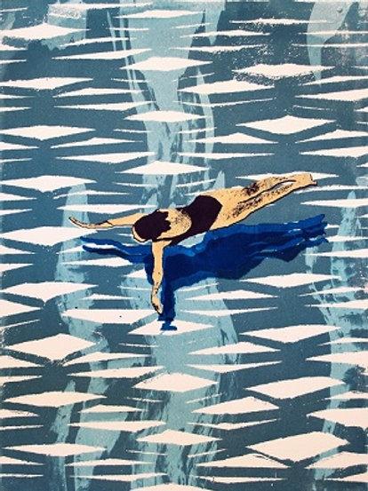 Print of Swimmer I