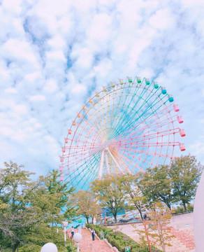 浪漫超夢幻彩虹摩天輪♥