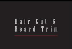 Hair Cut & Beard Trim