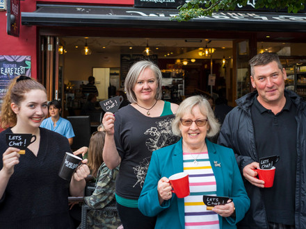 'Friendliness Cafe' Launched to Combat Increasing Loneliness and Feelings of Isolation Due to the Pa