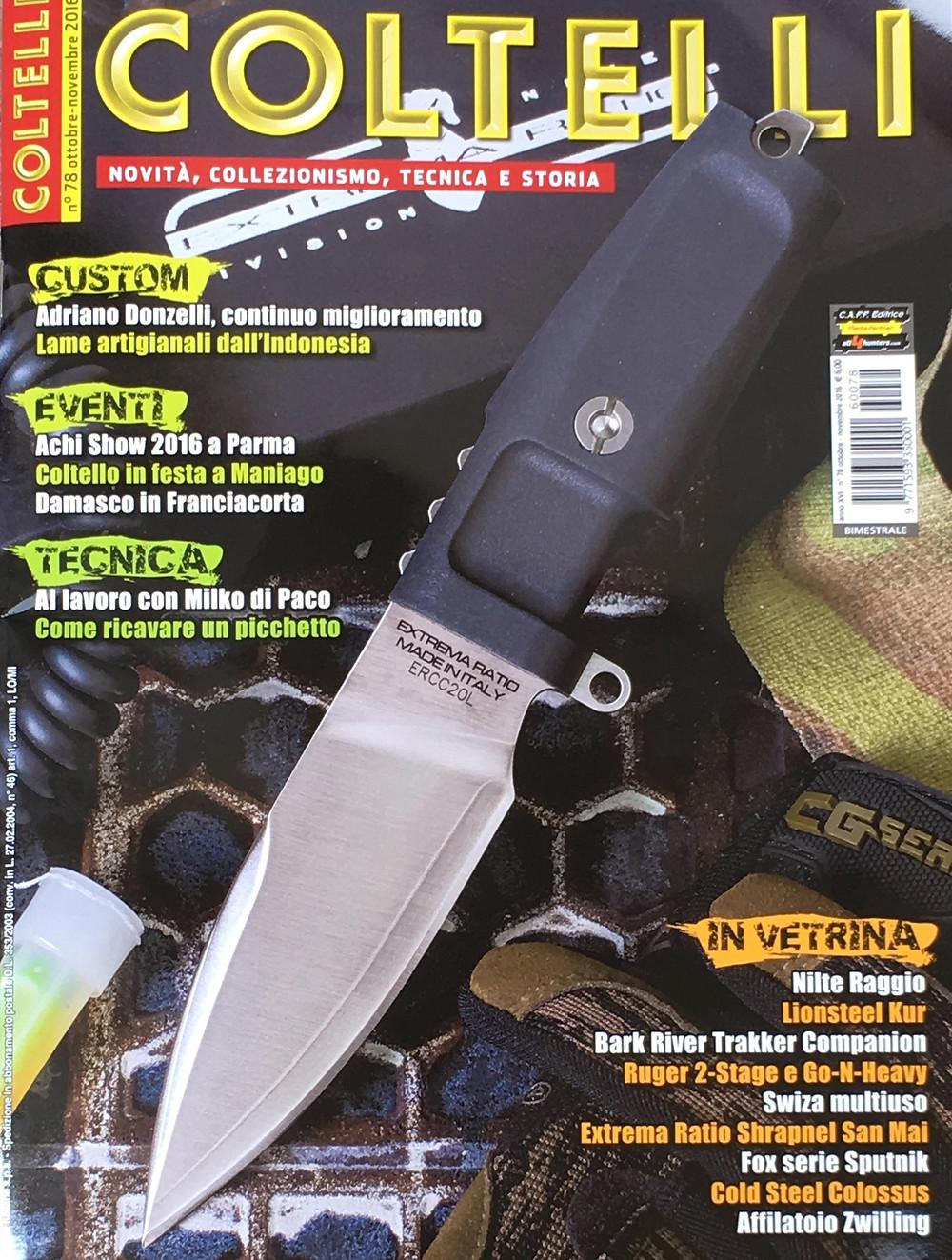 rivista coltelli